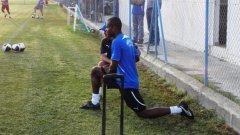 Маркиньос бе посрещнат радушно от феновете на Анортозис на първата си тренировка с отбора