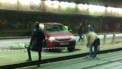 Снимка: архив след поредната катастрофа при спирката в подлеза на НДК