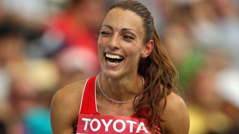 Ивет Лалова все така е най-бързата бяла жена, след като завърши седма на 100 метра