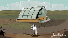"""Излизайки от метростанцията в """"Младост"""" 3, гражданите се озовават насред кална поляна..."""