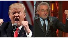 Въпреки че са мъже на по над 70 години, американският президент Доналд Тръмп и актьорът Робърт Де Ниро задочно си разменят обиди като ученици.
