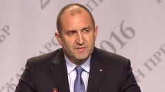 Румен Радев иска нови избори до 2 април 2017 г.