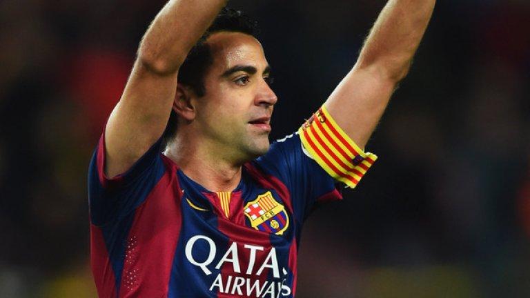 Шави е един от големите любимци на феновете на Барселона.