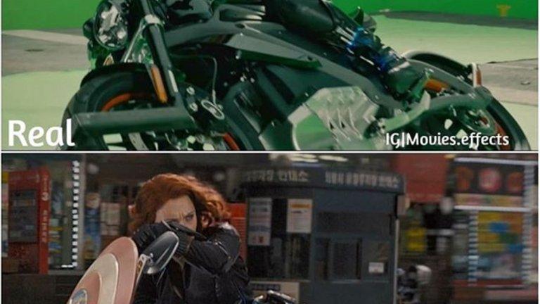 """Пример за впечатляващи специални ефекти има и в """"Avengers Age of Ultron""""."""