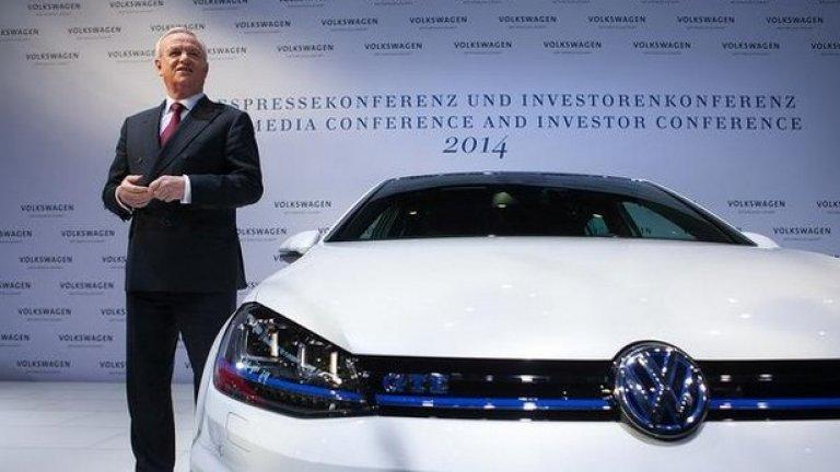 Новият шеф на VW Мартин Винтеркорн се извини за скандала, който от днес вече е глобален