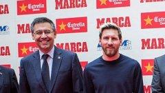 Барселона заплаши със съд