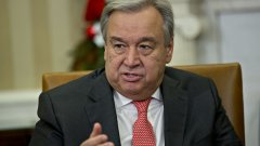 Бившият премиер на Португалия Антонио Гутериш закле на официална церемония пред Общото събрание на ООН