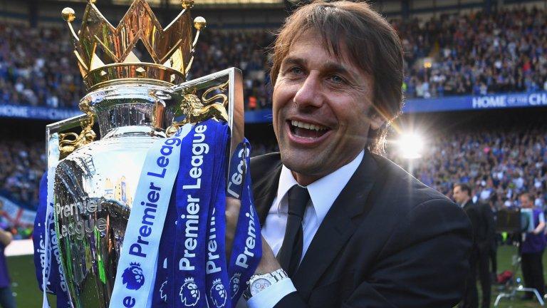 Преди Интер Конте работи две години в Челси, като спечели титлата през първия си сезон, а през втория изведе тима до трофея във ФА Къп.