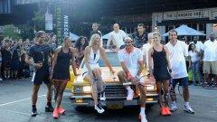 И Григор Димитров е част от елитната компания на Nike като бранд в тениса. Събитието в Ню Йорк отпреди няколко месеца имаше огромен отзвук заради разпознаваемите лица на някои от най-големите фигури в играта.
