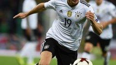 Горецка вкара два гола за немците при десетата им победа в квалификациите