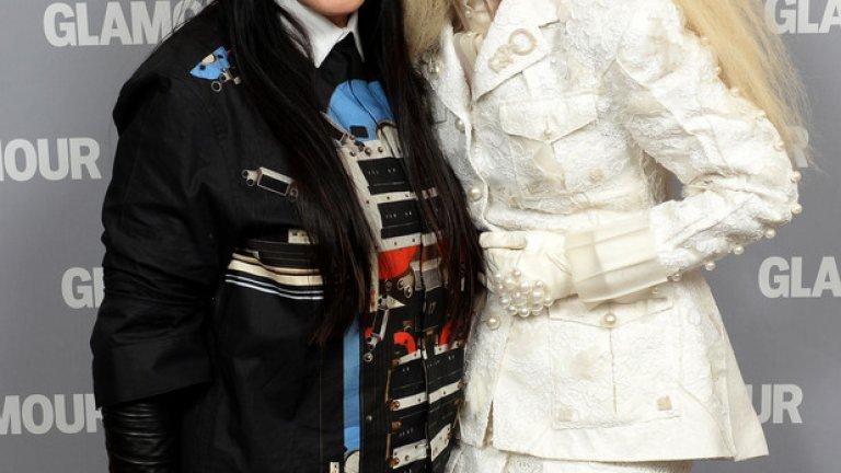 Обратно на Джей-Зи - Лейди Гага помогнала в много отношения за изкуството на Абрамович