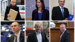 На каква подкрепа се радват партиите и коалициите в началото на кампанията