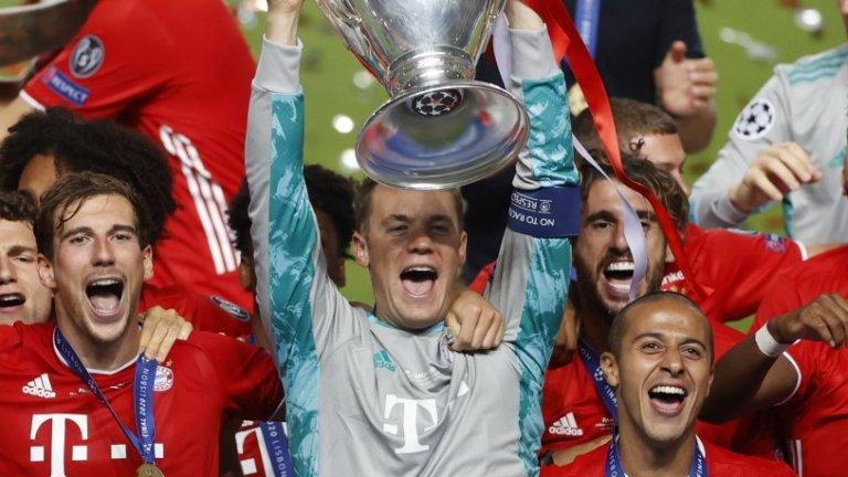 Нойер не само направи ключови спасявания във финала на Шампионската лига, но може да бъде причислен и сред най-добрите полеви играчи на Байерн