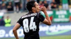 Бразилският нападател на Лудогорец Марселиньо се разписа два пъти във вратата на Локомотив (София) и вече има 8 гола на сметката си през сезона