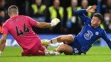 """Челси се измъчи на """"Стамфорд Бридж"""", но оцеля при дузпите"""