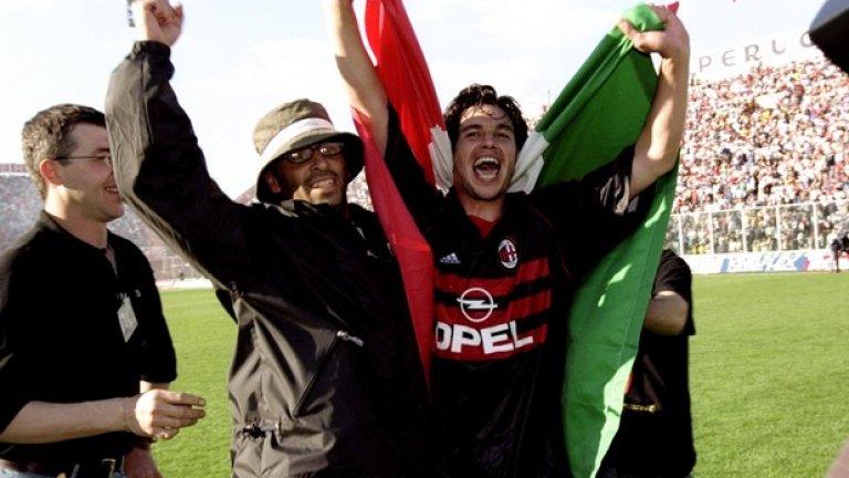 17. Деметрио Албертини (1988-2002, 28 гола в 406 мача)