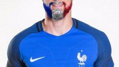 Оливие Жиру обеща да боядиса брадата си в цветовете на националния флаг, ако Франция спечели домашното Евро 2016