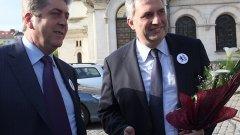 Първанов заговори за червени нишки, а не линии