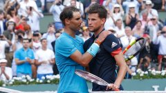 Тийм е убеден, че Надал и Федерер не биха си позволили подобно поведение.