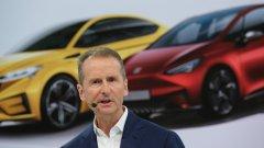 Компанията предвижда 75 милиарда евро инвестиции в електромобили, а изпълнителният директор Херберт Дис се цели в това да настигне компанията на Илон Мъск.