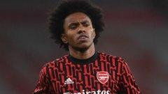 Уилиан се превърна в емблема на този окаян Арсенал и не спира да разочарова с изявите си, но Артета не се отказва от него