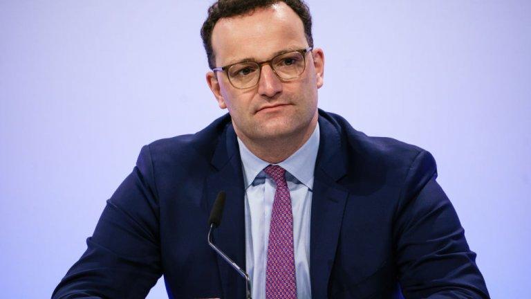 Германският здравен министър Йенс Шпан намекна, че страната може да е прекалила с мерките през март и април