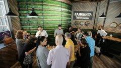 Инициативата на Съюза на пивоварите гостува в Пивоварница Каменица