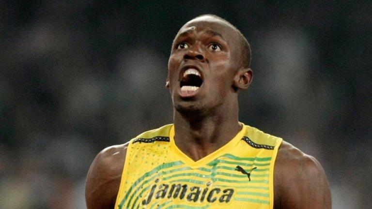 Най-бързият човек на планетата Юсеин Болт загуби световната си титла на 100 метра по нелеп начин след фалстарт на финала в Южна Корея