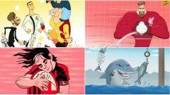 Големите трансфери това лято в карикатури и мемета...