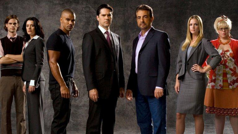 """Criminal Minds / """"Престъпни намерения""""   Да, звучи странно, но нека си признаем - има нещо интригуващо в серийните убийци. А когато ги лови този екип от експерти по съставяне на психологически профили, нещата стават повече от интригуващи. А когато залавят злодея в рамките на един до два епизода, накрая се изпълваш с усещане за завършеност, което е наистина приятно, особено след тежък ден."""