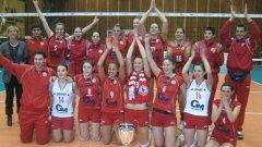 Волейболистките на ЦСКА спечелиха 19-та шампионска титла у нас