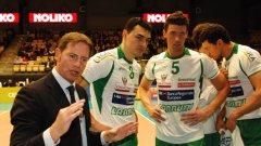 Владо Николов (вторият от ляво на дясно) вече има сериозно количество успехи на клубно ниво