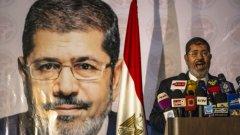 Морси бе свален от поста от египетската армия през юли 2013 г.