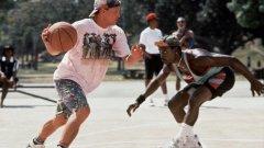 Време е за баскетбол...
