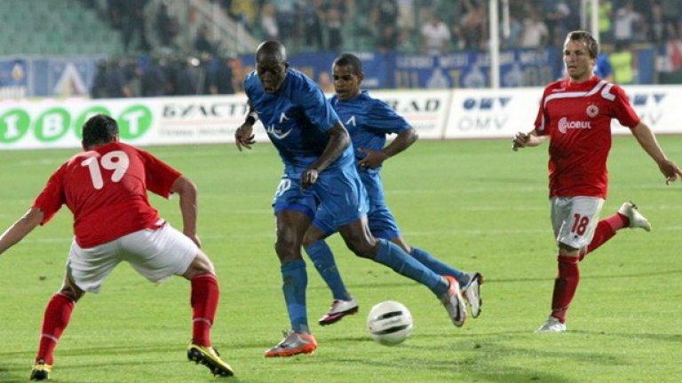 В последното издание на дербито Левски победи с гол на Гара Дембеле