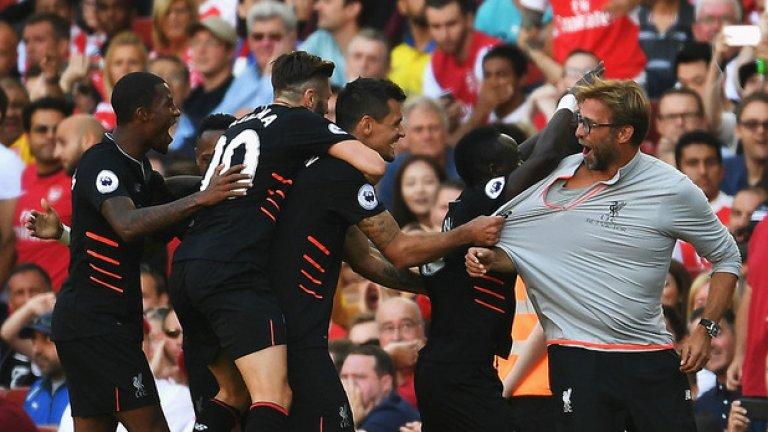 Сезонът започна с бясно 4:3 като гост на Арсенал, но след това дойде загубата с 0:2 от Бърнли. За два кръга Ливърпул допусна 5 гола...