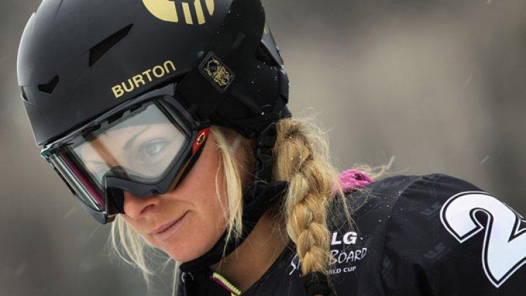 Русокосата красавица Александра Жекова завърши сезона в сноуборда с две поредни победи за Световната купа