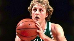 Лари Бърд се превърна в една от символните личности на НБА през 80-те и 90-те години на миналия век.
