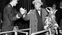 """Полицаят Олаф Логан изпълнява нареждането на собственика на Чикаго Къбс Филип Ригли и не допуска Били Сианис на трибуните за мач №4 от Световните серии срещу Детройт. Човекът е познат на всички, държи най-големия спортен бар в града, кръстен """"Били Козата"""". И отива на мач с талисмана на заведението. Били заклева отбора никога повече да не спечели, а и не само него - """"дано в този град повече не видят титла"""", са думите му. Детройт бие в следващите три срещи и печели с 4:2 сериите. Най-после проклятието падна и Къбс спечели големия финал. А замисляли ли сте се кой колко чака за титла във футболна Англия? Вижте в галерията."""