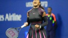 Серина Уилямс е на полуфинал след трисетов успех срещу Симона Халеп