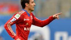 Миланов вкара за 2:0, след което бе сменен.