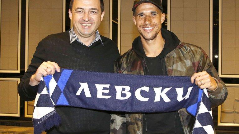Габриел Обертан пристигна в Левски през лятото на 2017 година като свободен агент