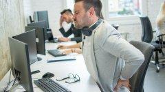 Бюрото ме убива: как да си помогнем за офис болежките в гърба