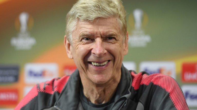 6. Арсен Венгер, бивш на Арсенал, 20,5 мнл. евро