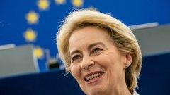 Урсула фон дер Лайен стана първата жена, избрана за председател на ЕК