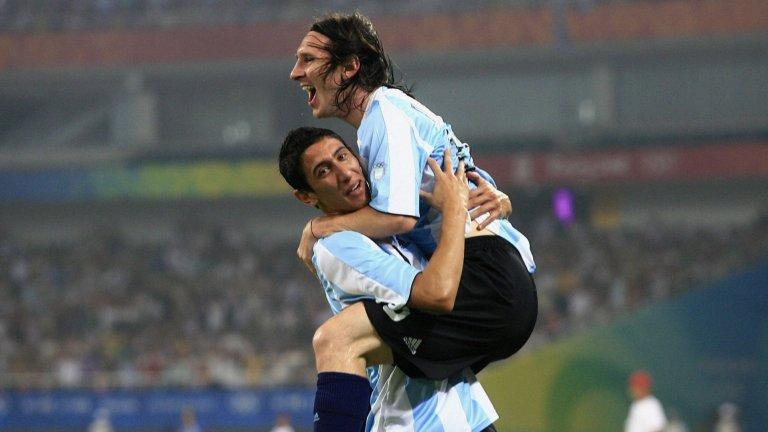 Ди Мария и Меси са дългогодишни съотборници в националния отбор на Аржентина.