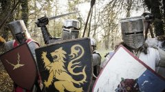 Какво символизират изображенията по рицарските щитове