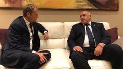 Лидерът на ГЕРБ говори на Конгреса на ЕНП в Малта и беше поздравен от лидера на партията Манфред Вебер, както и от председателя на ЕС Доналд Туск