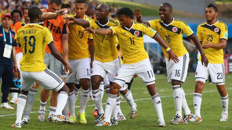 Колумбийците изнесоха трети пореден атрактивен мач на мондиала.