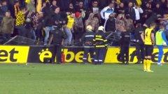 Поведението на феновете на Ботев в мача с Левски беше санкционирано с мач пред празни трибуни. Отборът ще изтърпи наказанието си именно в голямото дерби срещу градския съперник Локомотив